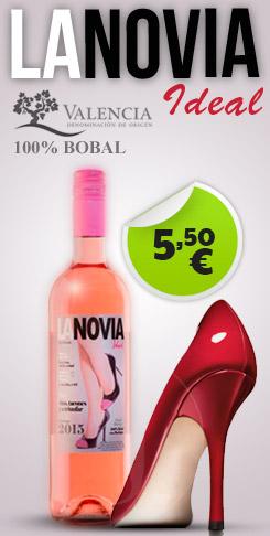 Oferta Vino La Novia Ideal - 5.50€