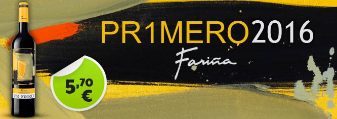 Oferta Vino Primero de Fariña 5.70€