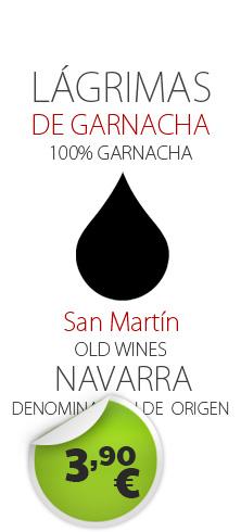 Lagrimas de Garnacha - 3.90€