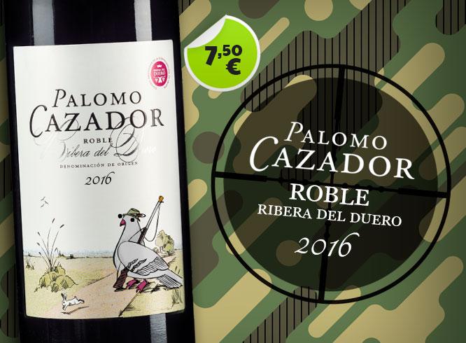 Palomo cazador 7,50