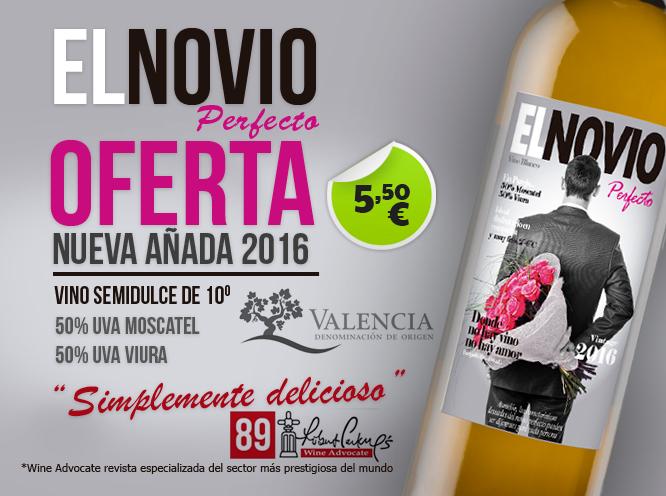 Oferta Vino El Novio Perfecto - 5.50€