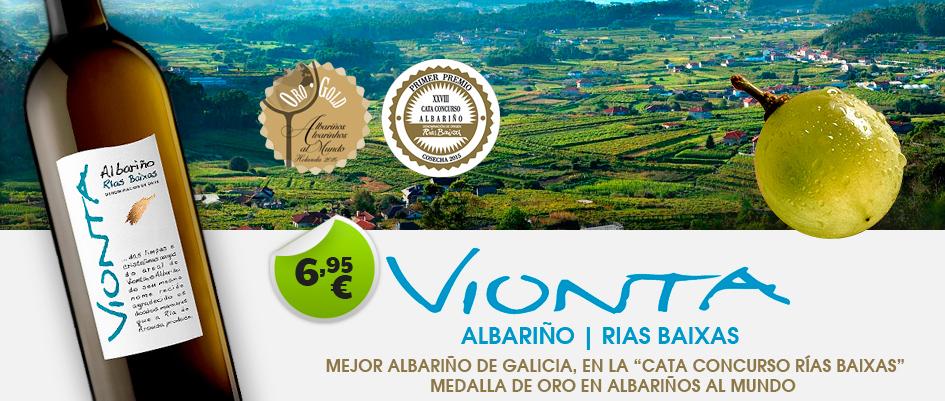 Vionta Albariño 6.95€